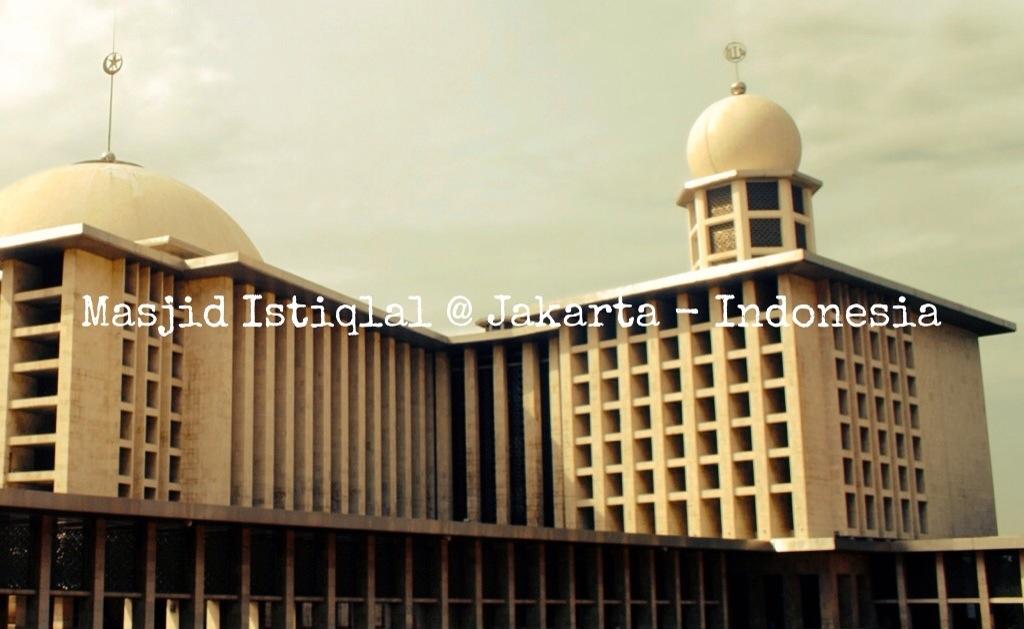 Masjid Istiqlal Jakarta Erwin Noekman
